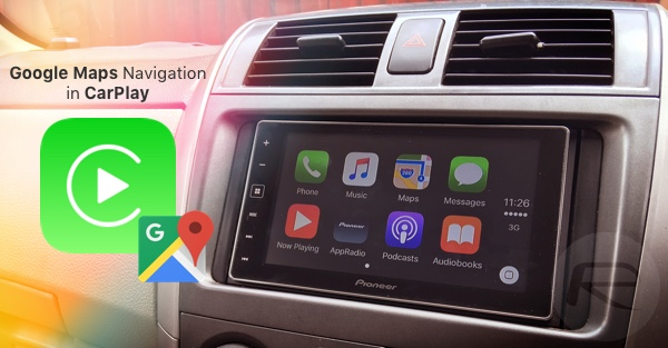 Maps CarPlay main