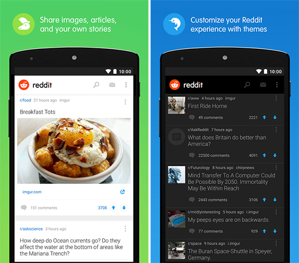 Reddit-official-Android-app