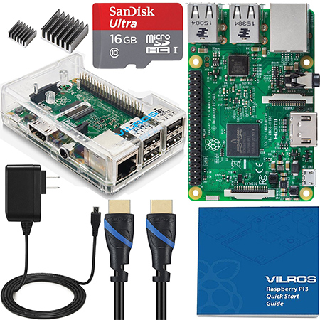 Vilros-Raspberry-Pi-3-Complete-Starter-Kit--Clear-Case-Edition