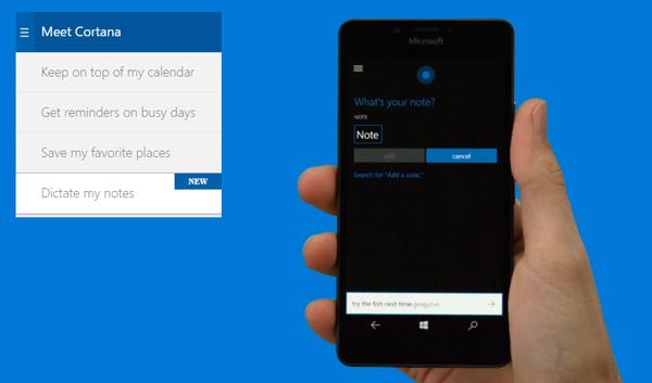 Windows-10-mobile-demo-page