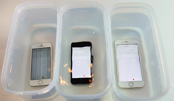 online store e5c2f d976d iPhone SE Vs iPhone 6s Vs iPhone 5s Waterproof Test [Video ...