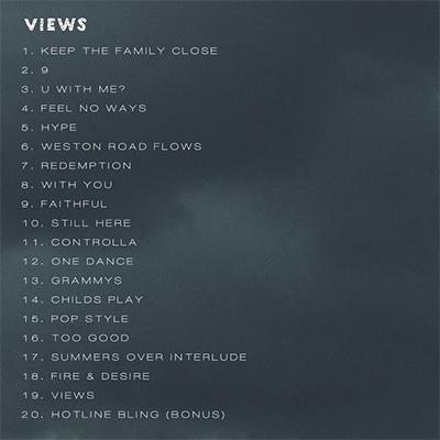 views-album-tracks