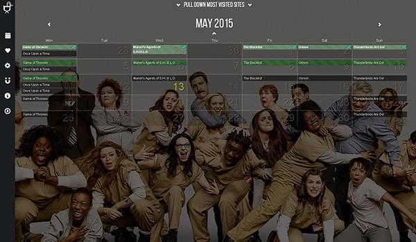 DuckieTV-calendar_