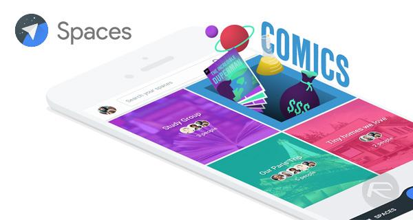 Google-Spaces