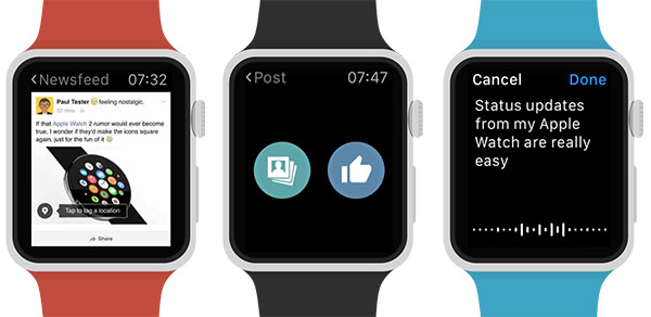 Littlebook-for-Facebook-Apple-Watch
