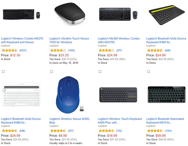 Logitech-PC-accessories
