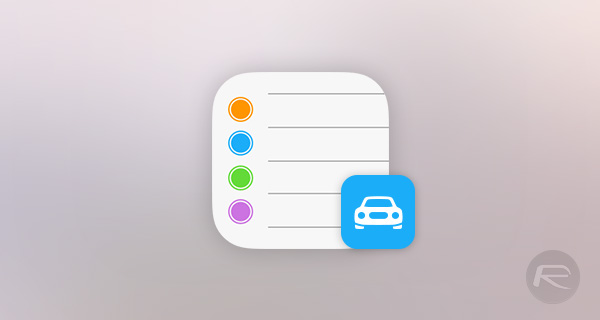 Reminders-car-iOS