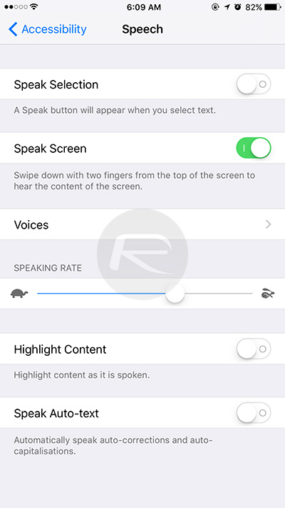 Speak-Screen