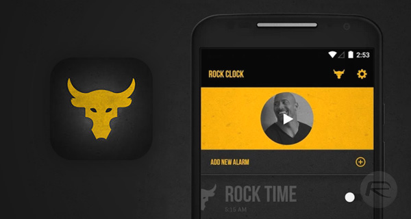 The-Rock-Clock-app