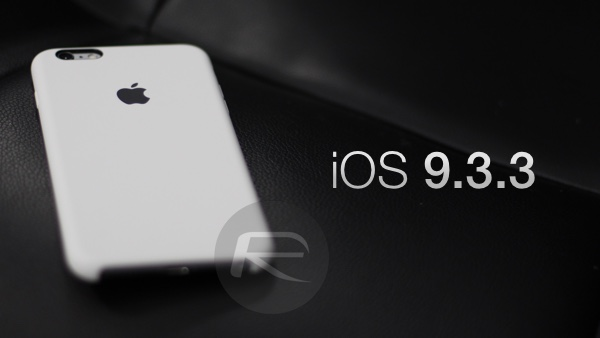 iOS 9.3.3 main