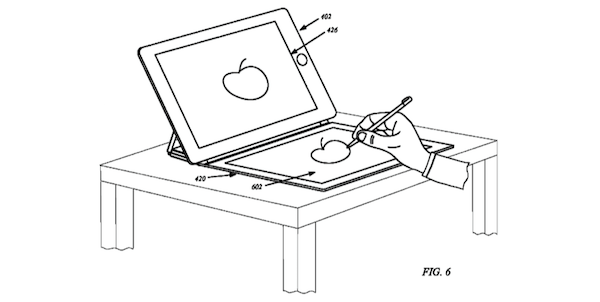 iPad smart cover patent drawing