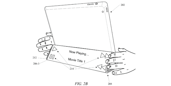 ipad smart cover patent touch