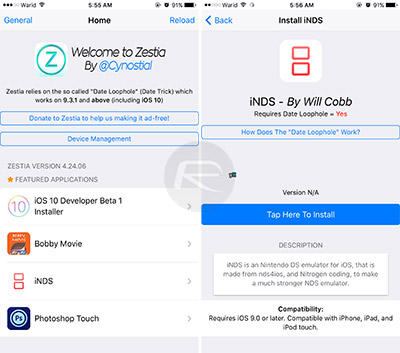 Install Zestia Cydia Alternative On iOS Without Jailbreak, Here's