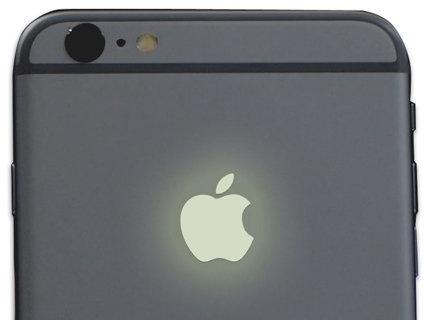 apple-sticker-glow-in-the-dark