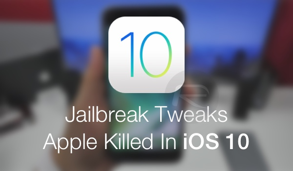 iOS-10-jailbreak tweaks killed