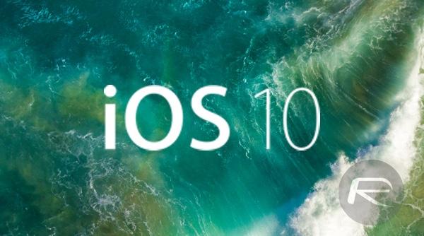 iOS 10 main main