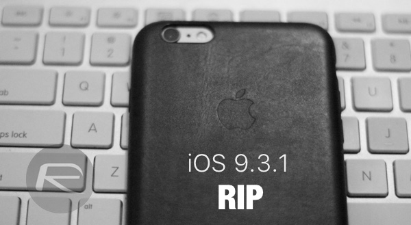 iOS 9.3.1 signing