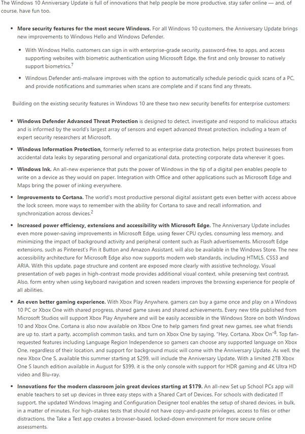 windows-10-anniversary-update-features-list