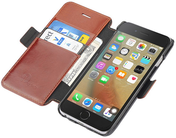 1byone-Genuine-Leather-Wallet-Stand-Folio-Case