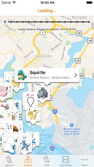 Find Pokemon Go PokeStops, Gyms, Rare Pokemon Maps Location