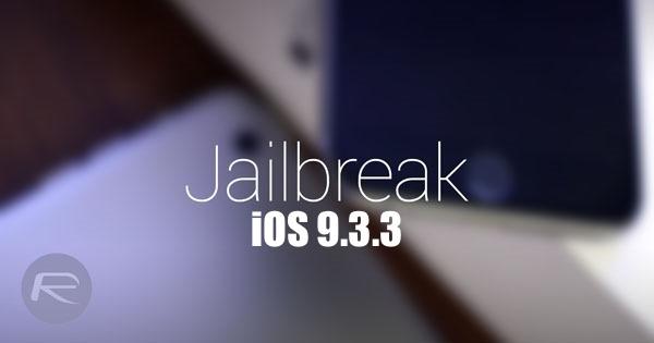 Jailbreak-iOS 9.3.3