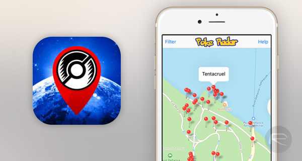 Poke-Radar-iOS-app
