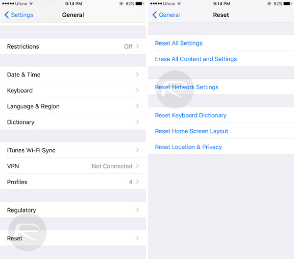 iphone reset network settings tips to fix ios 10 bluetooth problems on iphone 2677
