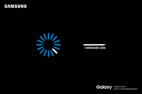 [unpacked invitation 2016] from Samsung