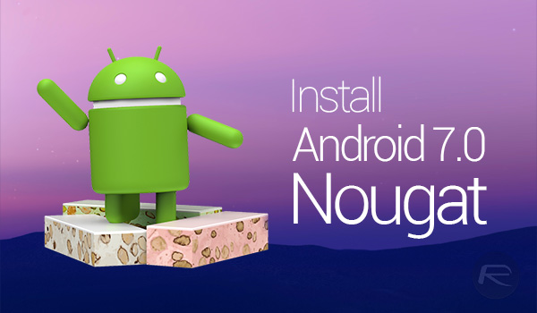 Install-android-nougat
