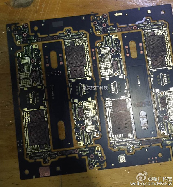 Leaked-logic-board-iPhone-7