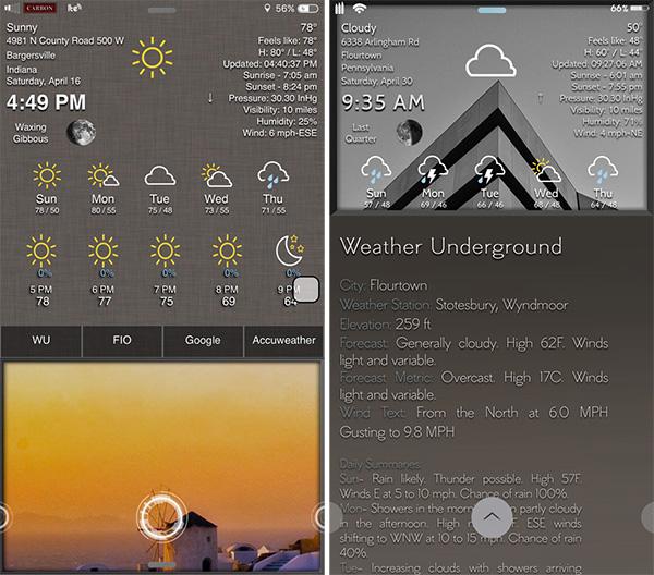 Weatherwidget