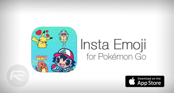 Insta Emoji For iOS Brings Pokemon Go-Themed Stickers For