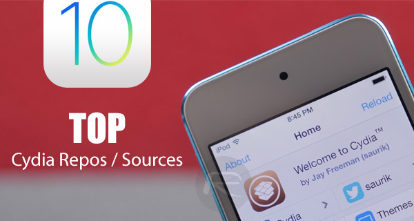 Top 10 Cydia Repos / Sources For iOS 10 - 10 2 [List] | Redmond Pie