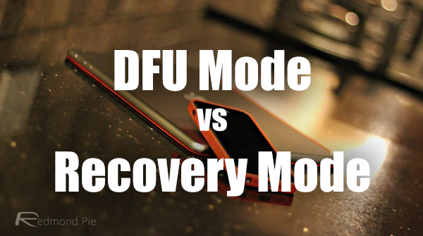 dfu-vs-recovery-mode