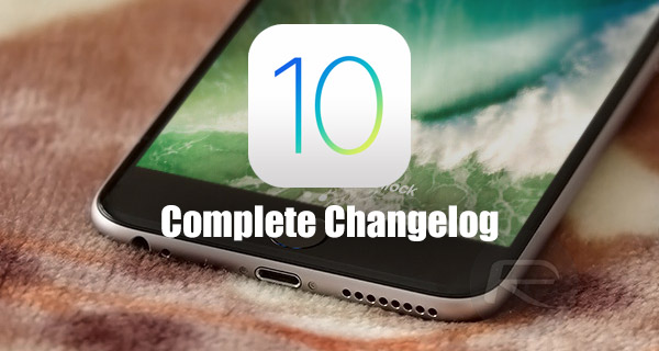 ios-10-complete-changelog