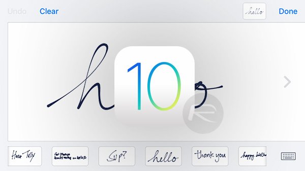 ios-10-handwritting