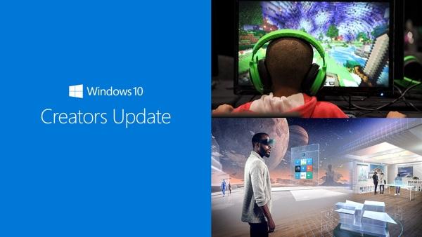 Windows 10 creators update main