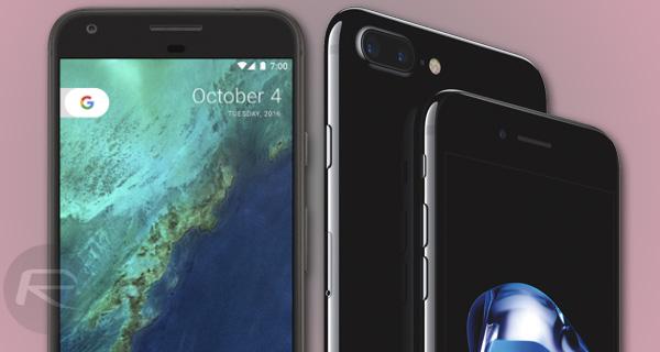Google Pixel / Pixel XL Vs Apple iPhone 7 / 7 Plus