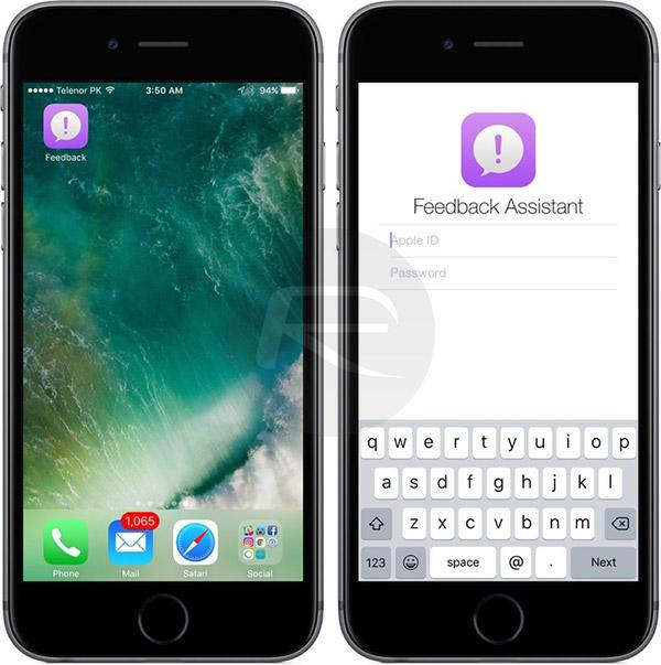 Feedback-app-iOS