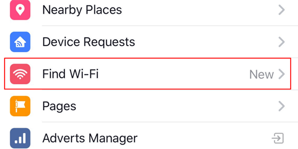 Find-WiFi-Facebook-main