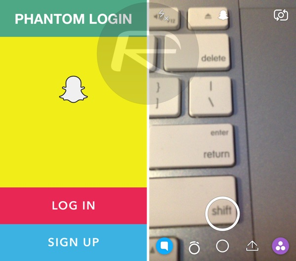 Download Phantom For Snapchat IPA On iOS 10 iPhone [No Jailbreak