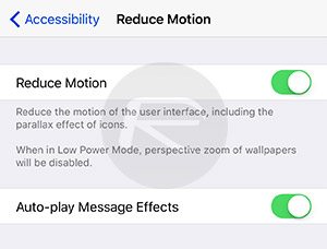 Reduce-Motion