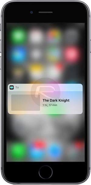 TV-app-widget