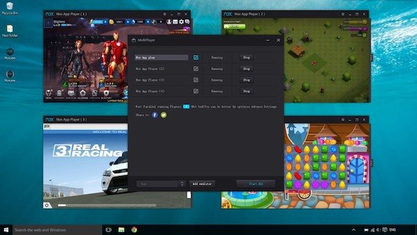 android games on Windows 10