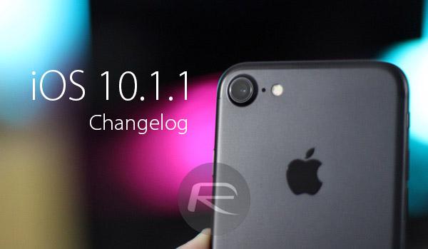 iOS-10.1.1