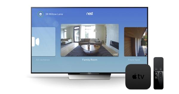 nest apple tv 4 app