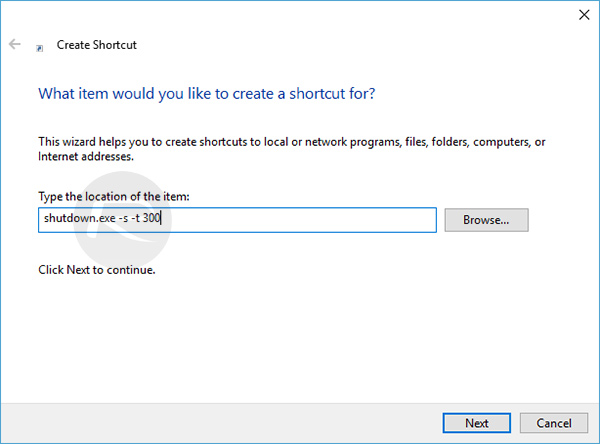 shutdown-timer-shortcut
