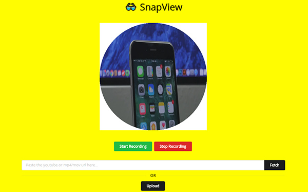 snapview-video