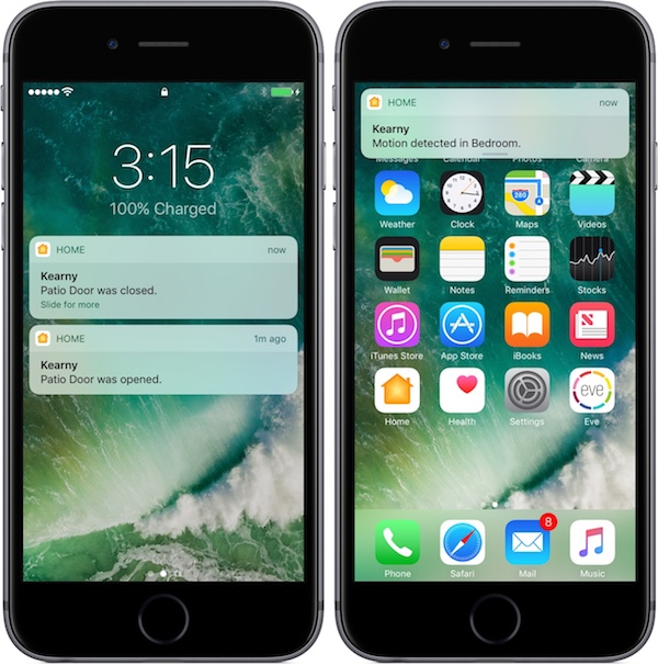 HomeKit iOS 10.2 1