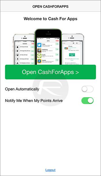 Open-cashforapps